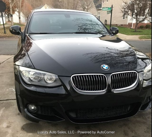 2013 BMW 3-Series 335i Convertible 6-Speed CPO Certified
